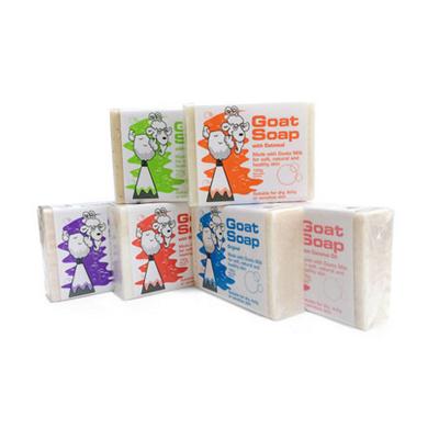 GoatSoap羊奶皂澳洲羊奶皂婴儿儿童香皂洁面皂六块装澳洲羊奶皂