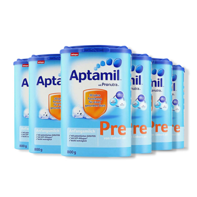 Aptamil 德国爱他美 婴儿奶粉 Pre段 0-6月 800g